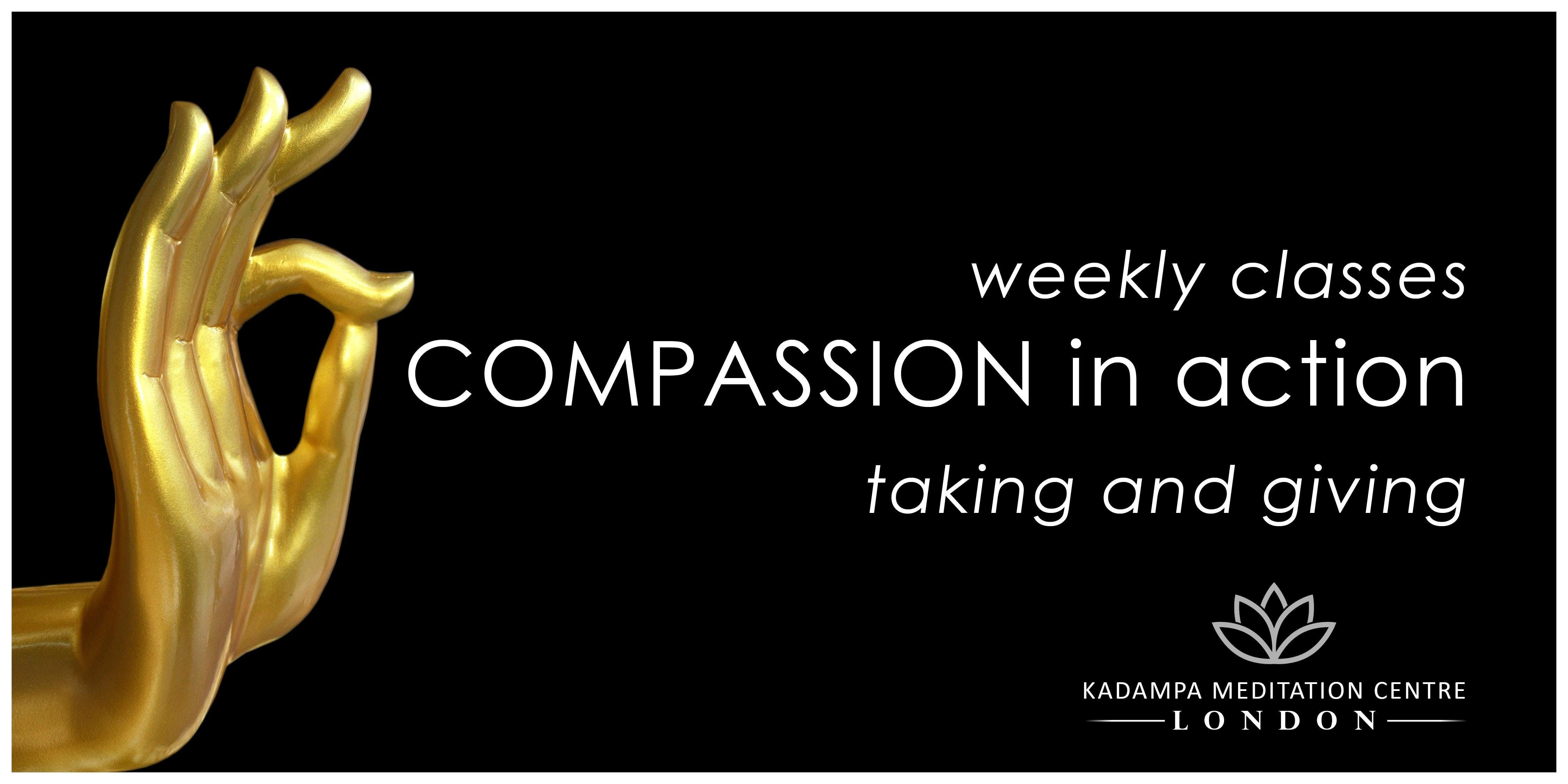 Compassion in Action The Practice of Taking & Giving (Morden Classes)