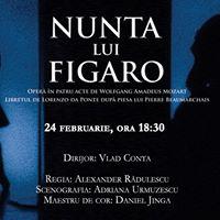 Nunta lui Figaro de Wolfgang Amadeus Mozart