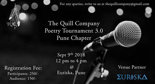 TQC Poetry Tournament 3.0 Pune Chapter