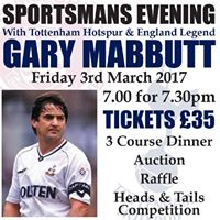 Sportsmans Evening with Gary Mabbutt