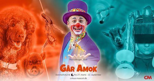 Cirkus Mascot GR AMOK - Gug