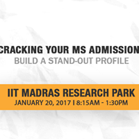 Cracking Your MS Admissions - Build a Stand-Out Profile