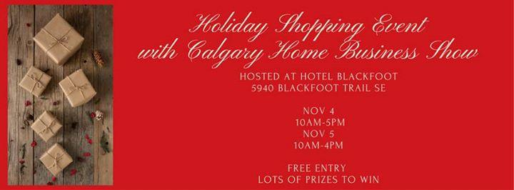 Calgary Home Business Show Holiday Shopping Event