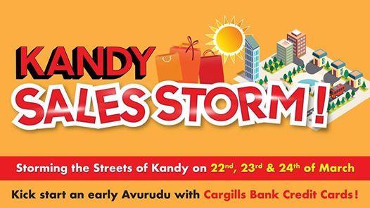 Cargills Bank - Kandy Sales Storm