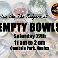 Naples Empty Bowls  Join &quotThe Badgers&quot