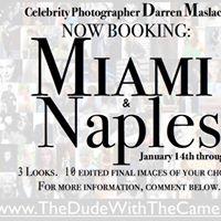 Celebrity Photographer Darren Maslach. Florida. 2016