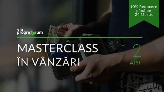 Masterclass n vnzri 1-2 Aprilie
