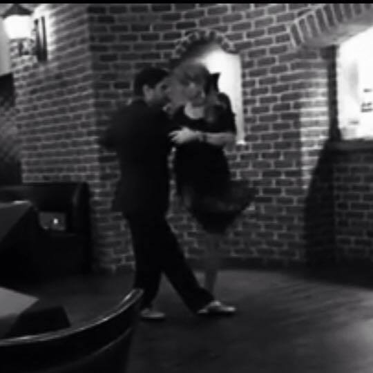 Group tango lesson with mauro and caren at river oaks for 22 salon houston