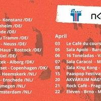 Bohemian Betyars - Csavarg Album Release Tour - Nijmegen (NL)