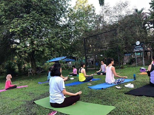 Outdoor Yoga  Farm Breakfast