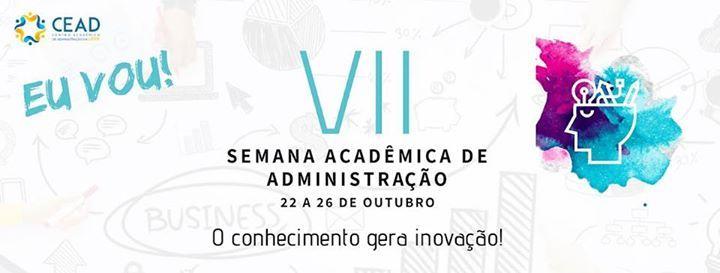 VII Semana Acadmica de Administrao UFPR