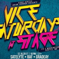 Vice Saturdays at Stage  12.16