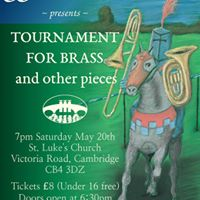 CSD Brass presents Tournament for Brass and other pieces