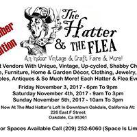 Hatter &amp The Flea Indoor Vintage &amp Craft Faire &amp More NOV 2017