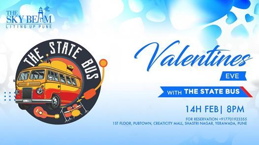 Valentines Eve With The State Bus