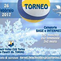 Torneo BeachVolley Cus Torino base e intermedio 2x2 MFmisto
