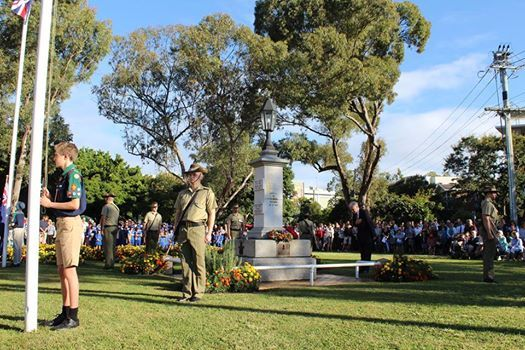 ANZAC Day Service - Indooroopilly
