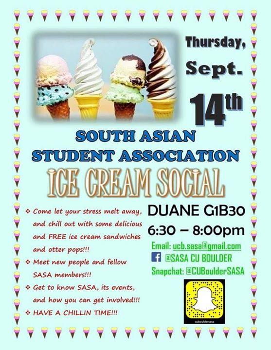 SASA Ice Cream Social