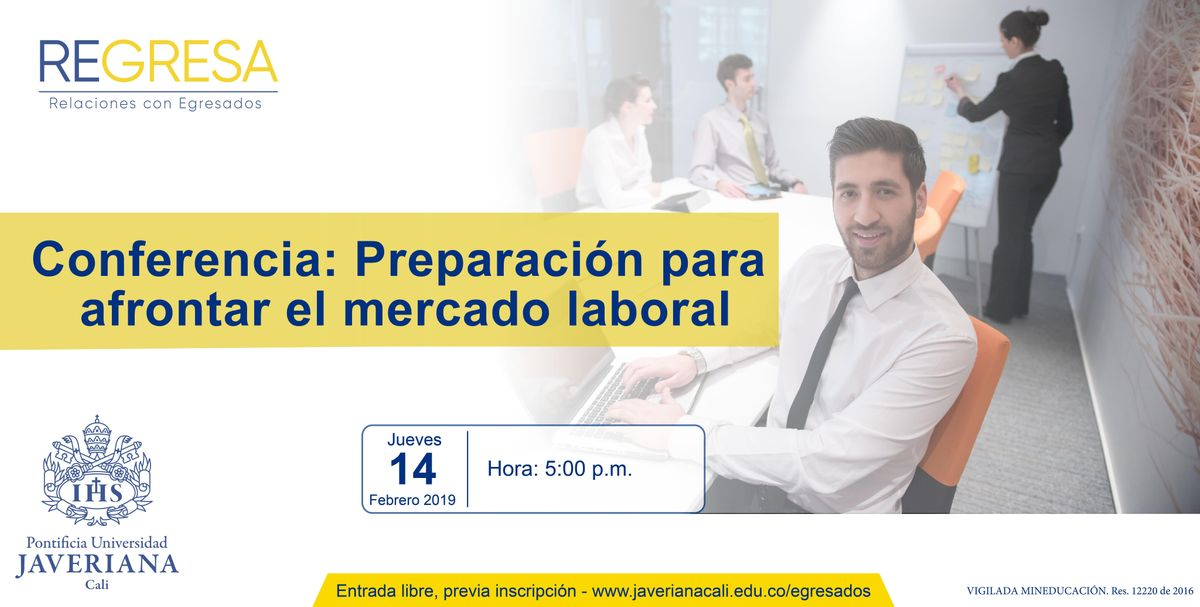 Conferencia Preparacin para afrontar el mercado laboral.