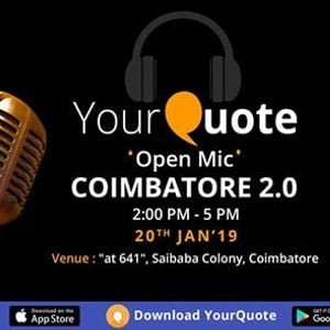 YourQuote Open Mic Coimbatore 2.0
