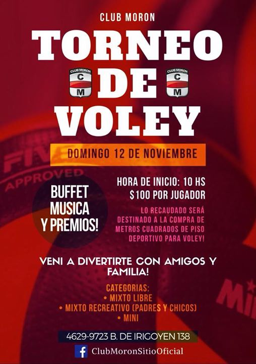 TORNEO MIXTO DE VOLEY