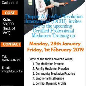 Certified Professional Mediators Training at All Saints