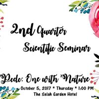 2nd Quarter Scientific Seminar
