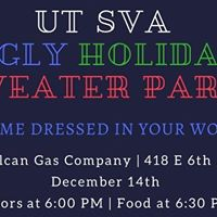 UT SVA Ugly Holiday Sweater Party