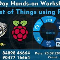 Hands-on Workshop on IOT using Raspberry Pi