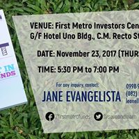 Davao Mutual Funds Seminar