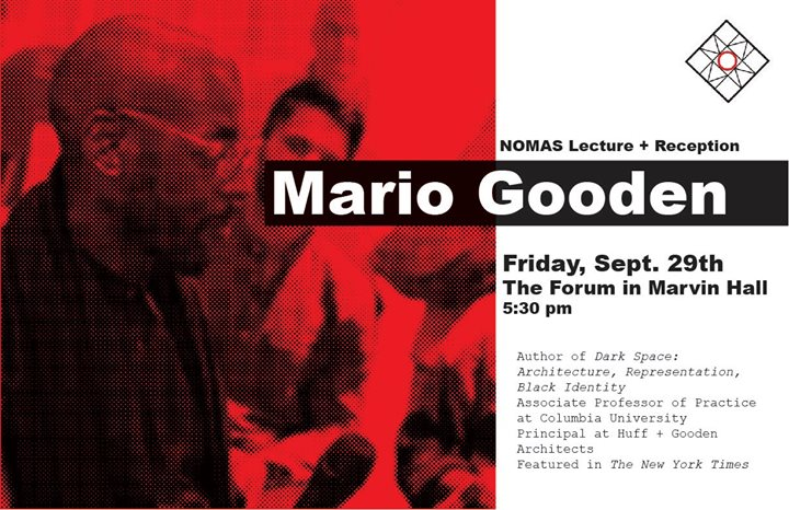 Mario Gooden Lecture and Reception