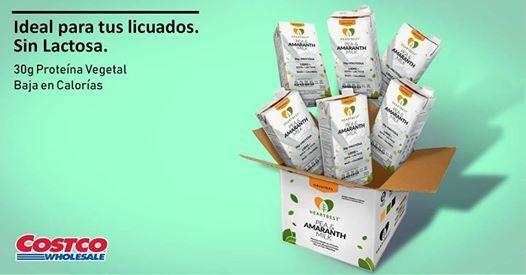 Degustación PEA & Amaranth Milk en Costco Puerto Vallarta at
