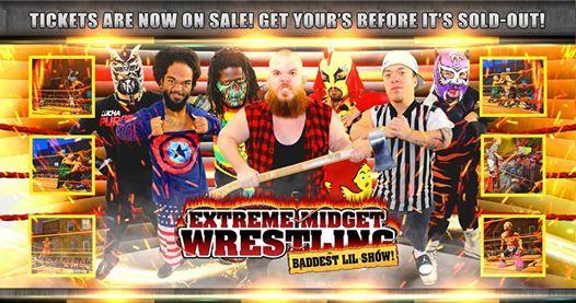 Extreme Midget Wrestling in Fort Walton Beach FL NW Fair