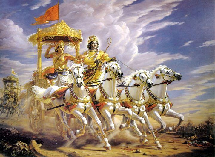 A ndia Milenar ensinamentos do pico Bhagavad Gita