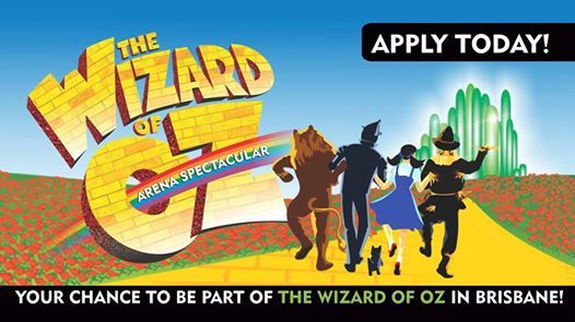 Be part of The Wizard Of Oz in Brisbane