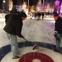 Curling Event at the Park