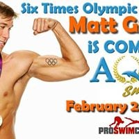 Swim Clinic with 6 Time Olympic Medalist Matt Grevers