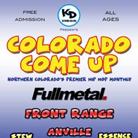 Colorado Come Up 8 - Free All Ages Hip Hop Monthly