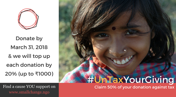 UnTaxYourGiving on www.smallchange.ngo