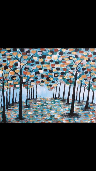 Magical Forest PaintingPick your season At Americado
