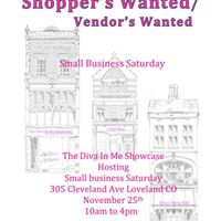 The Diva In Me Craft Fair Small Business Saturday Nov 25th