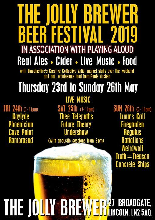 Jolly Brewer Beer Festival Bank Holiday Weekender