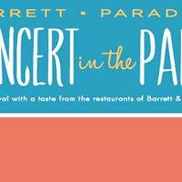 Barrett Paradise Concert in the Park
