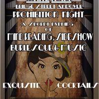 White Hart Prohibition Night