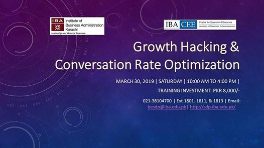 Growth Hacking & Conversation Rate Optimization