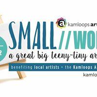 SMALLworks a great big teeny tiny art show