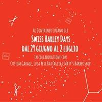 A Container Lugano gli Swiss Harley Days