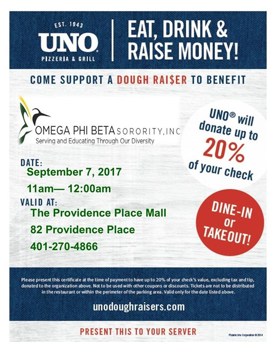Omega Phi Beta Sorority Dough Raiser