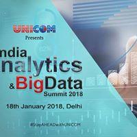 India Analytics &amp Big Data Summit 2018 - Delhi