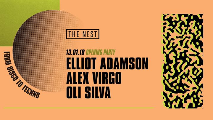 From Disco To Techno Opening Party - Elliot Adamson Alex Virgo